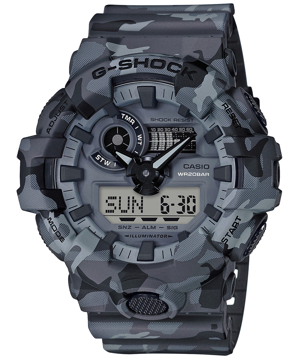 Casio G-Shock GA-700CM-8ADR (G825) Camouflage Men's Watch