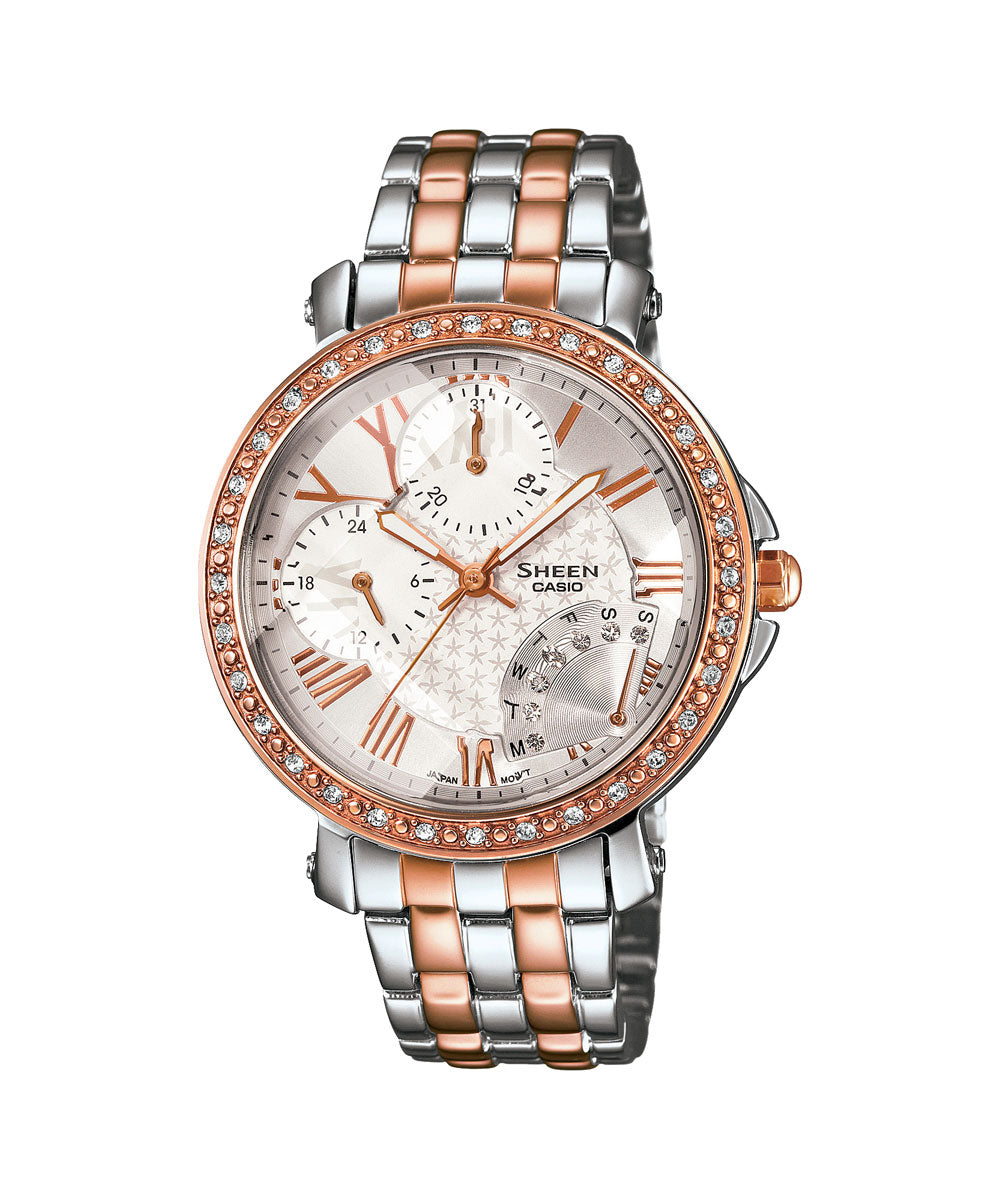 Casio Sheen SHN-3011SG-7ADR (SX144) Rose Gold Women's Watch