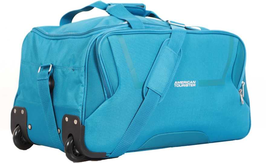 American Tourister (Expandable) Cosmo Wheel on Duffle Bag (Teal)
