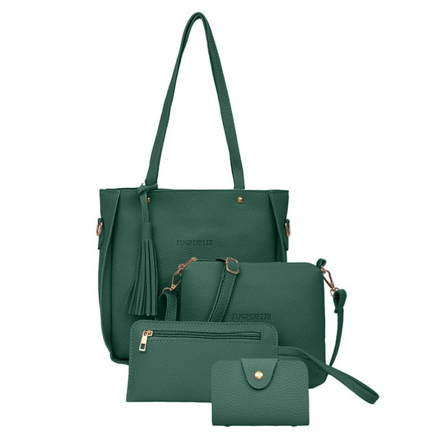 Four-Piece Woman Bag Set