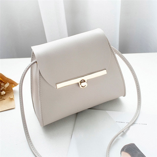Simple Flap Shoulder Bag
