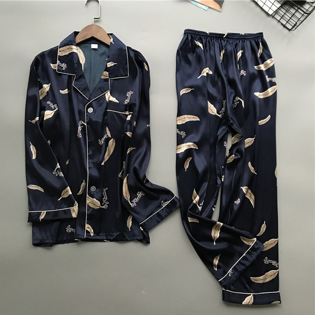 Feather Pajamas for Men
