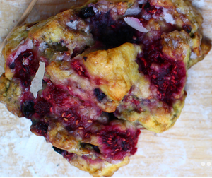 Berry Scone