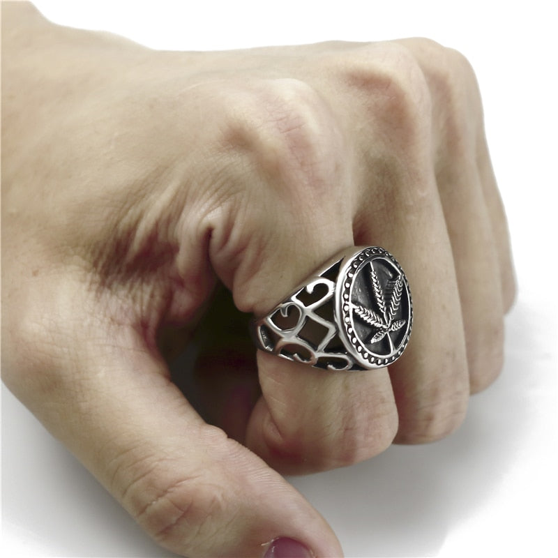 Stainless Steel Weed Ring