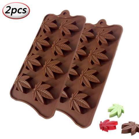 Marijuana Pot Leaf Mold