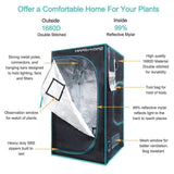 Indoor Grow Tent Kit for indoor plants growing