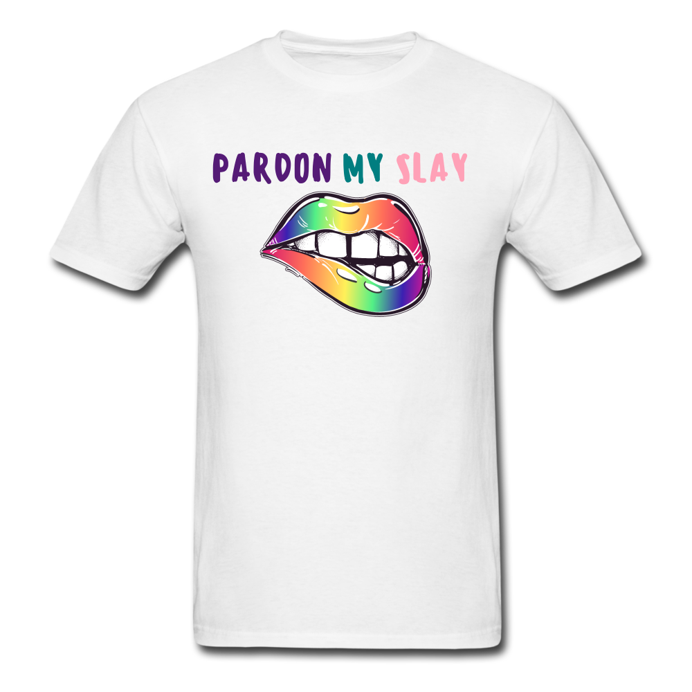 PARDON MY SLAY - white