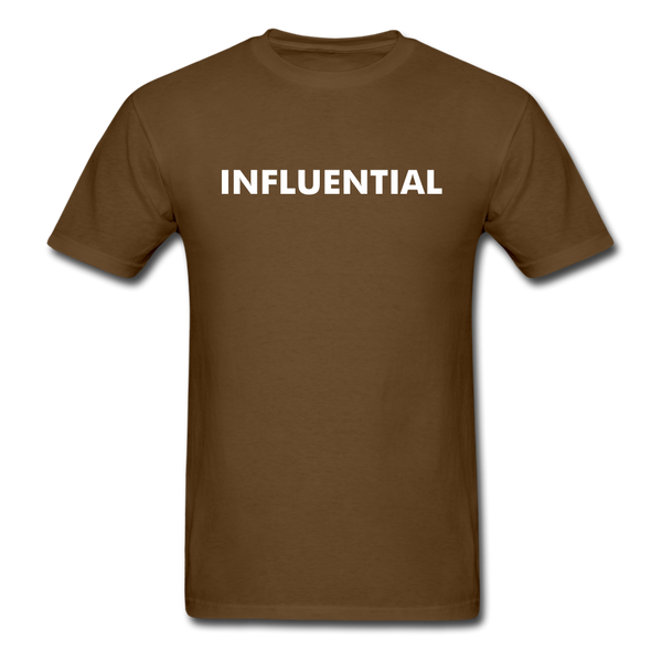 INFLUENTIAL - brown