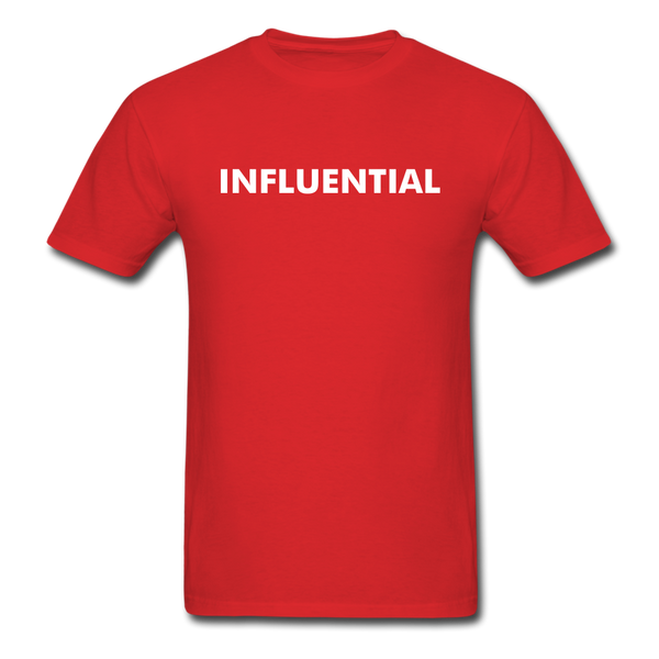 INFLUENTIAL - red
