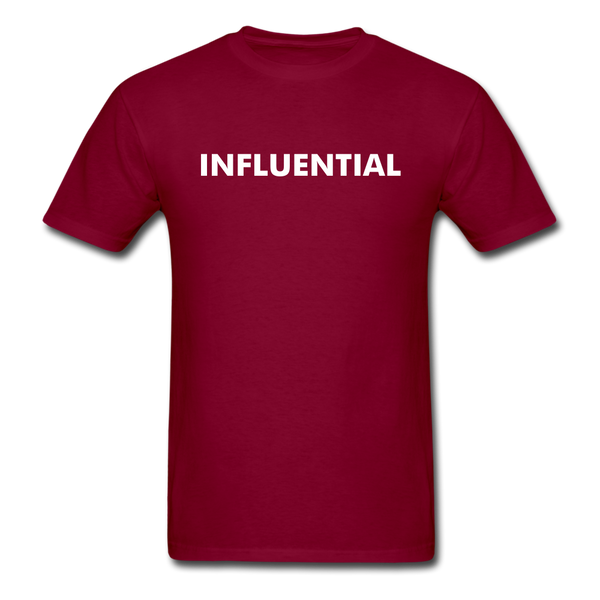 INFLUENTIAL - burgundy