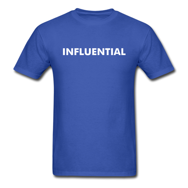 INFLUENTIAL - royal blue