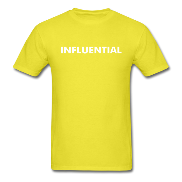 INFLUENTIAL - yellow