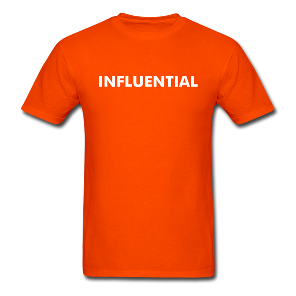 INFLUENTIAL - orange