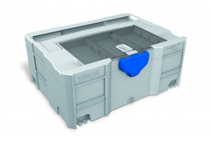 systainer T-Loc II with lid sort-tray, light grey