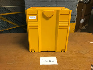 Systainer T-Loc V Insulated, Yellow, Like New