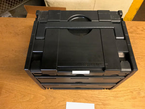 Drawer Systainer IV, Anthracite (black), Like New