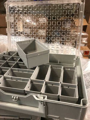 Systainer3 Organizer M 89 with 22 insert boxes, Light Grey