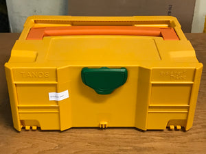 Systainer T-Loc II, empty, Yellow with green latch and orange handle, Good