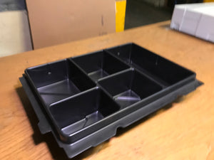 Insert tray with a few compartments (Classic system), , Like New