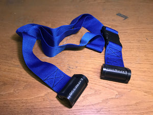 Blue Expresso Tie Down Strap, potentially for Trapo Vario Cart, , Like New