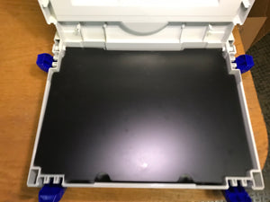 Plastic hinged insert for covering sort trays (Classic system), , Like New