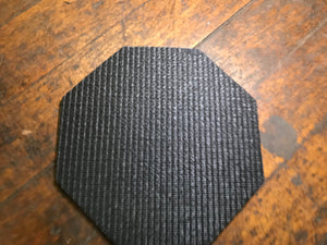 Work mat/coaster, octogon, double sided grip, , Like New