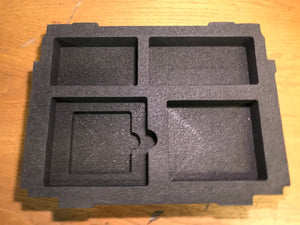 Bottom hard foam with compartments for Classic, , Like New