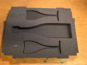 Bottom soft foam for Wine and glasses for Classic, , Like New