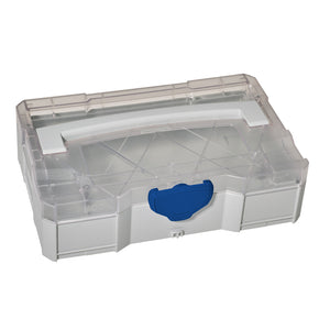 MINI-systainer T-Loc I with transparent lid, light grey