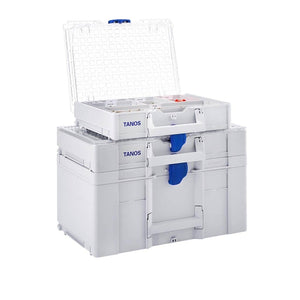 Systainer3 Organizer M 89 with 6 insert boxes, Light Grey