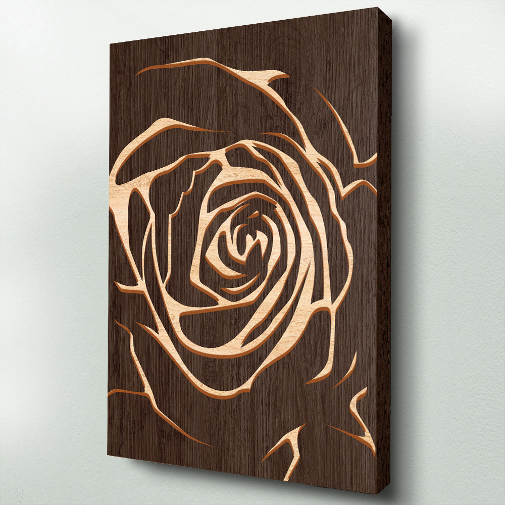 Rose dark wood