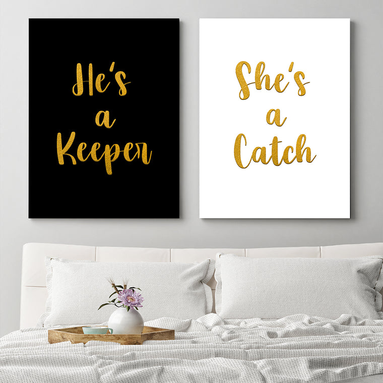 His & Hers - Catch