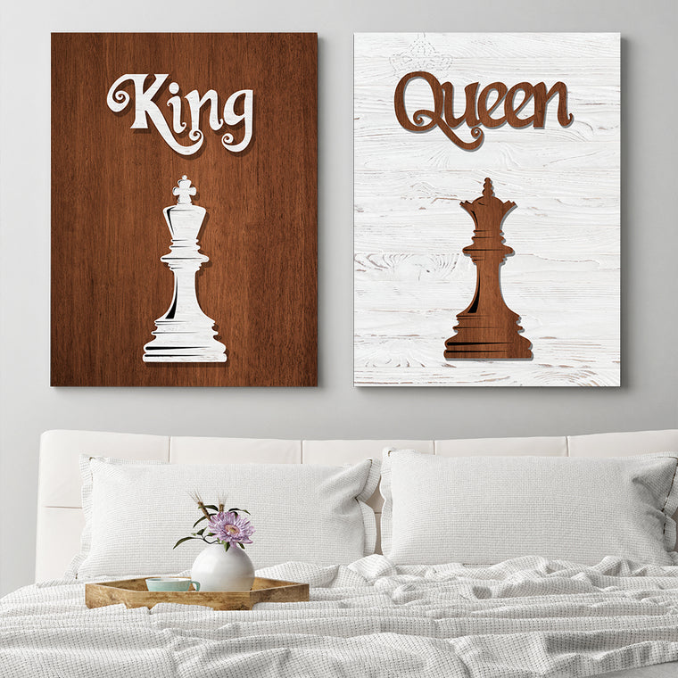 His & Hers - King & Queen
