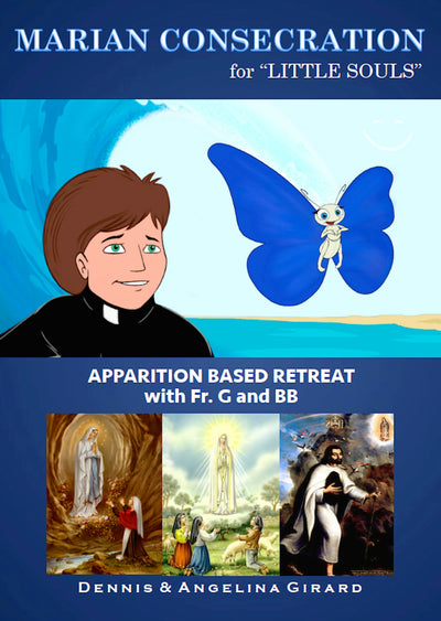 Marian Consecration for Little Souls - 24 Books - Free Shipping