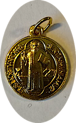 St. Benedict Medal Gold Color