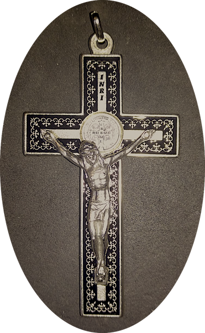 St. Benedict Straight Bar Cross