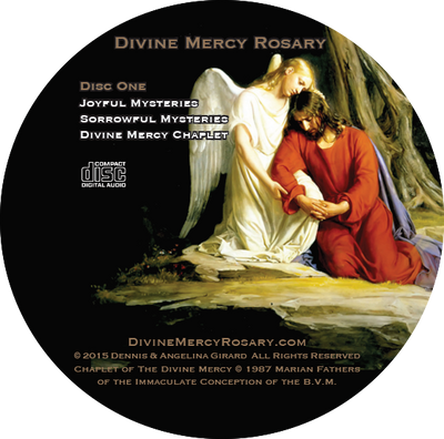 Rosary and Divine Mercy Chaplet Double CD