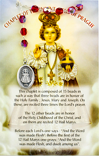 Chaplet of the Divine Infant of Prague