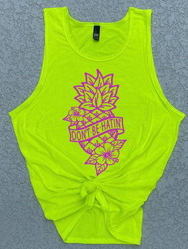 Don't Be Hatin' Graphic Tank
