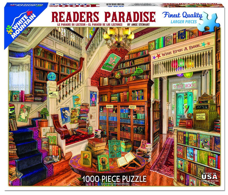 Readers Paradise 1000 Piece Jigsaw Puzzle
