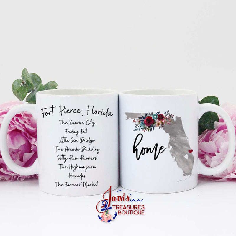 Jarvis Treasures Exclusive Fort Pierce Coffee Mug