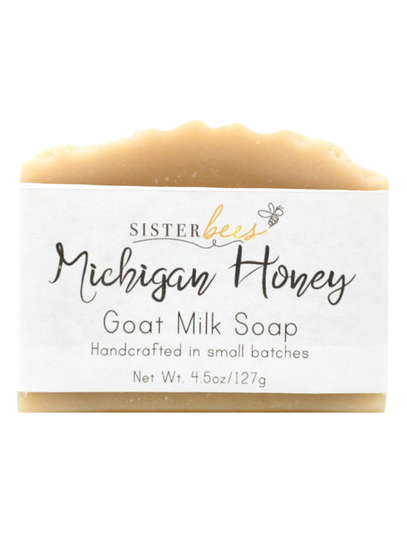 Michigan Honey Goat's Milk Soap