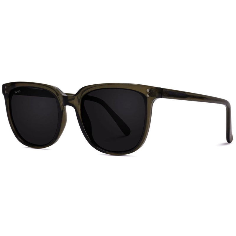Mia Modern Black Square Sunglasses