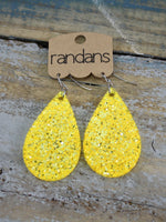 Glitter & Glam Frameless Dangle Earrings