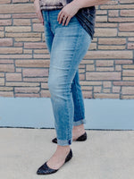 Judy Blue Non Distressed Raw Cuff Boyfriend Jeans