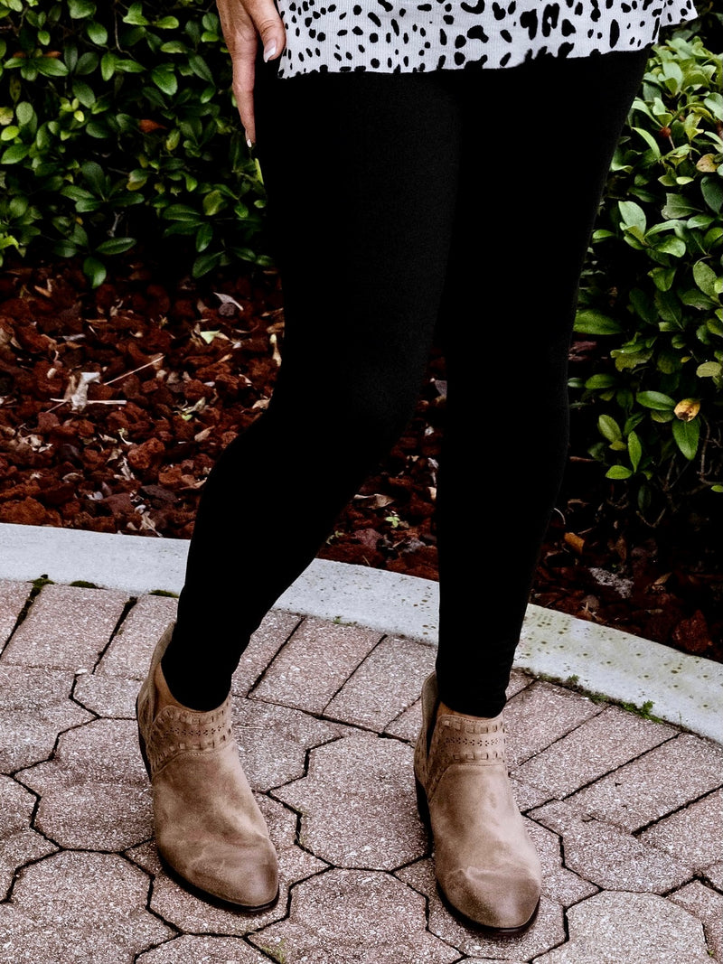 Patsy Cut Out Tan Distressed Booties