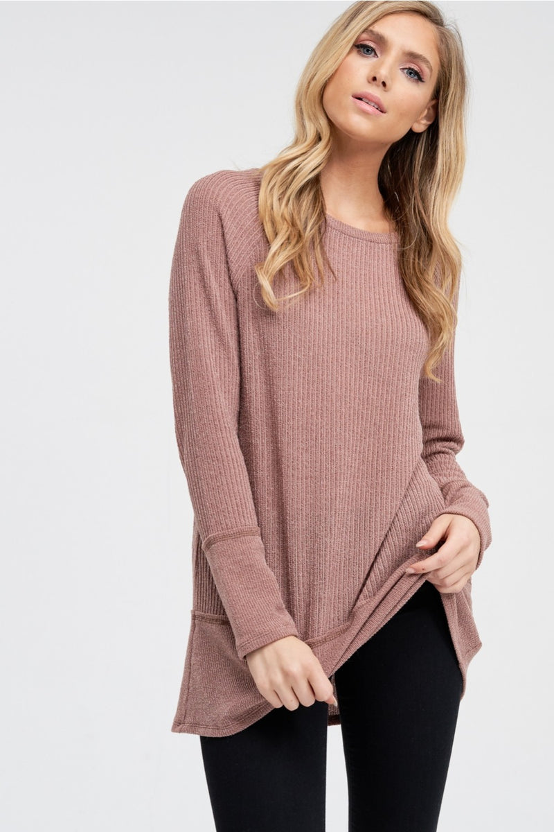 Cozy Thin Knit Solid Sweater