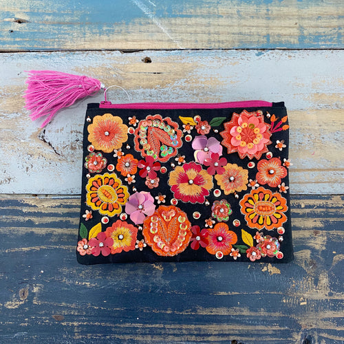Kelly Embellished Pouch