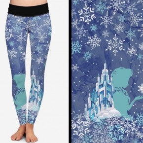 Frozen Princess KIDS Pocket Leggings