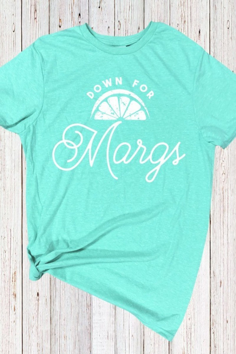 Down For Margs Graphic Tee